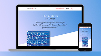 Canongate Books responsive website