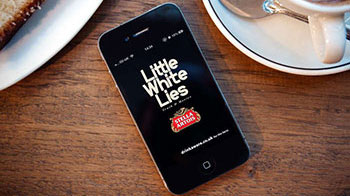 Little White Lies app with Stella Artois
